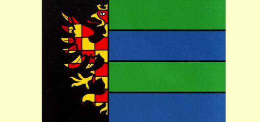 """""""Flag of Vítkovice"""" od neznámý – Město Ostrava – znaky a prapory, ISBN 80-86122-02-6. Licencováno pod Volné dílo via Wikimedia Commons - http://commons.wikimedia.org/wiki/File:Flag_of_V%C3%ADtkovice.jpg#mediaviewer/File:Flag_of_V%C3%ADtkovice.jpg"""